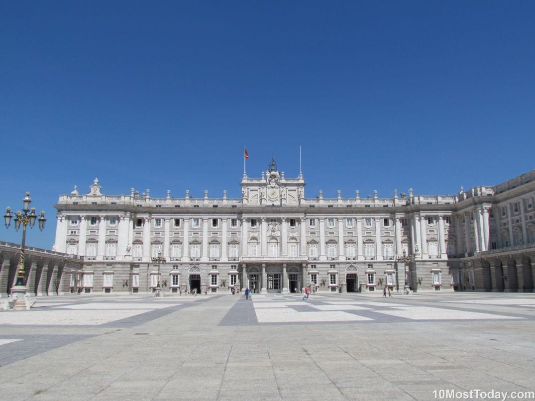 Best Attractions In Madrid: The Royal Palace