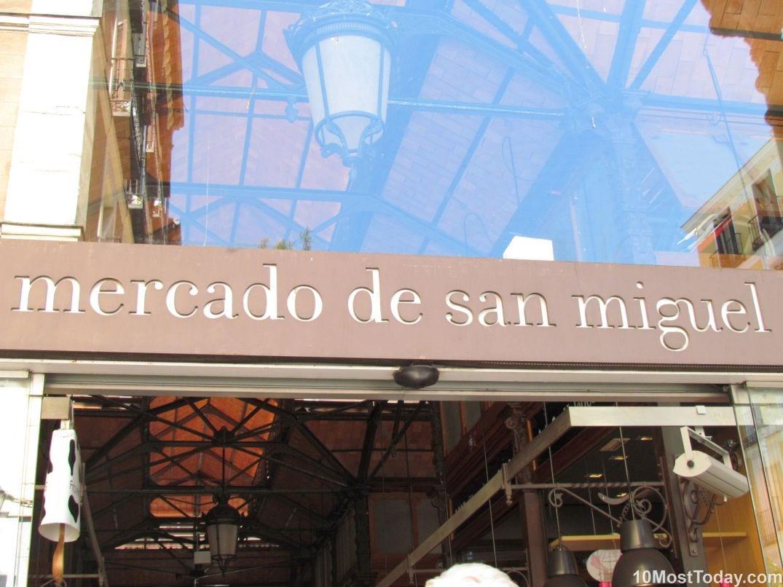 Best Attractions In Madrid: San Miguel Market