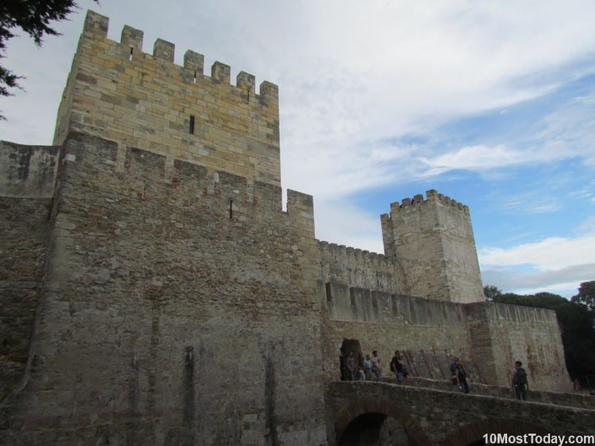 Best Attractions In Lisbon: Castle of São Jorge