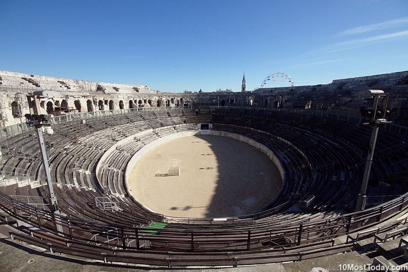 Most Beautiful Roman Amphitheaters: Arena of Nîmes
