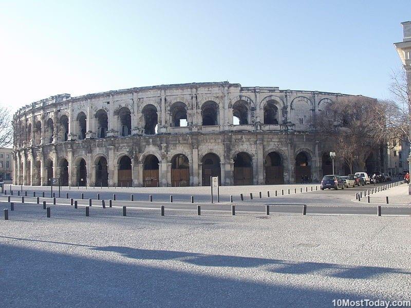 Most Beautiful Roman Amphitheaters: Arena of Nîmes
