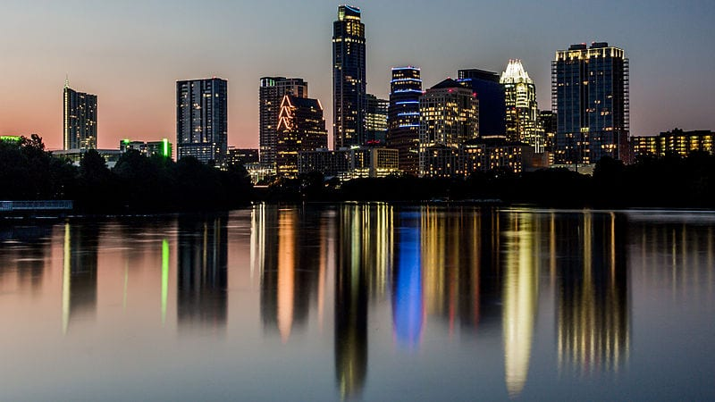 Austin, texas - Texas is the 2nd largest state by population