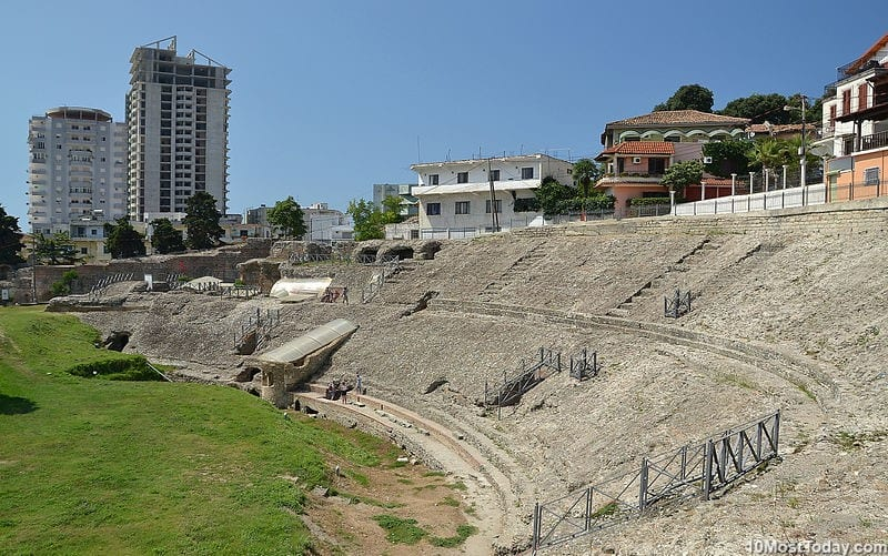 Most Beautiful Roman Amphitheaters: Durrës Amphitheater