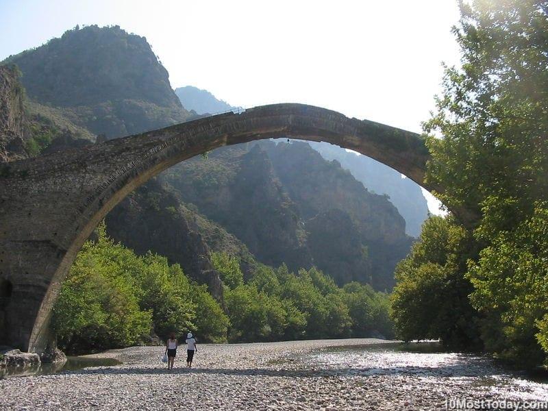 Most Beautiful Stone Bridges In The World: Konitsa Bridge, Greece
