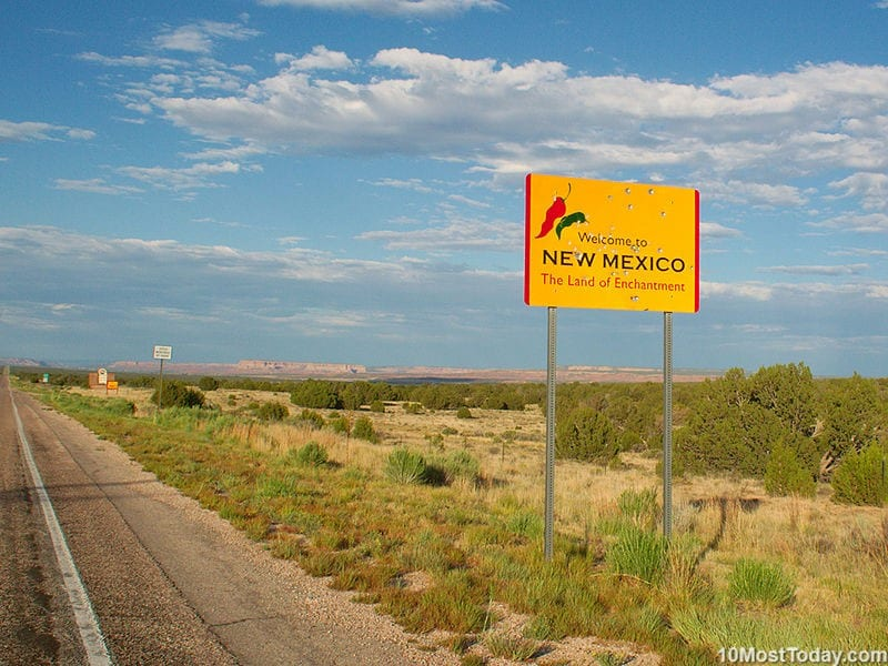New Mexico - a state since January 6, 1912