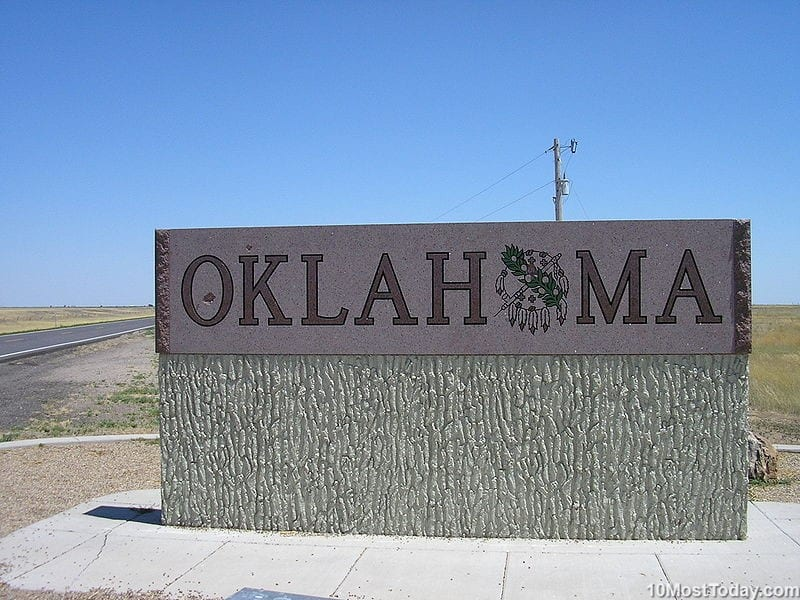 10 Last states To Join The United States: Oklahoma