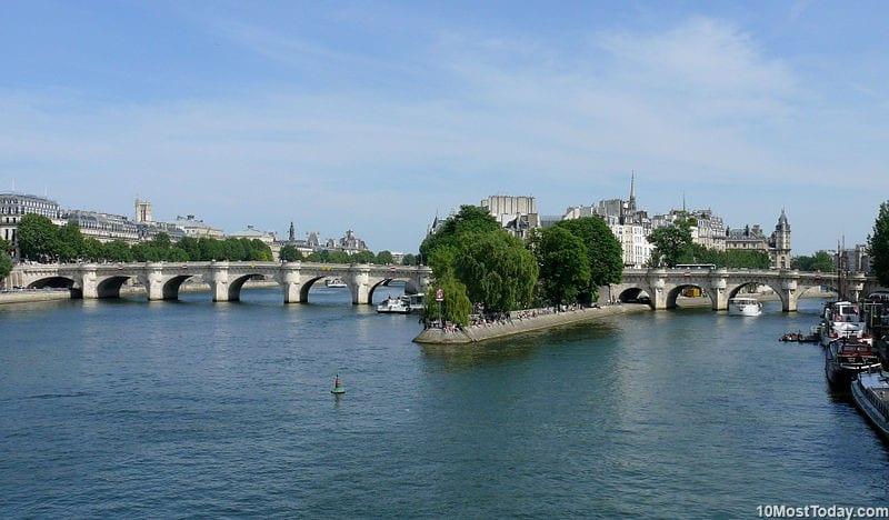 Most Beautiful Stone Bridges In The World: Pont Neuf, Paris, France