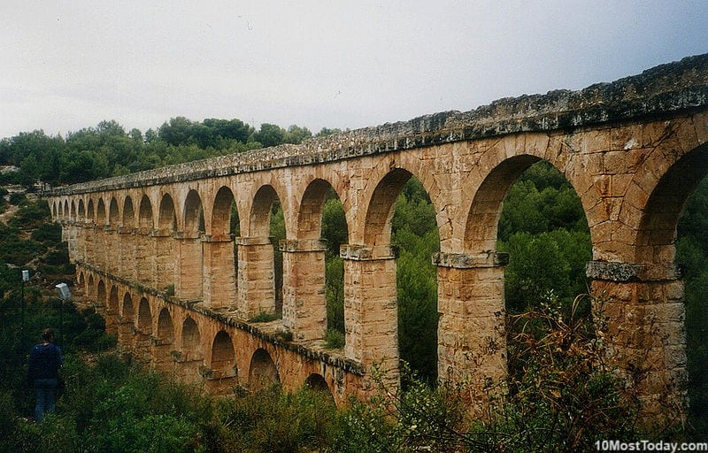 Most Beautiful Roman Aqueducts: Pont de les Ferreres