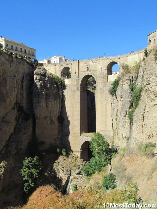 Most Beautiful Stone Bridges In The World: Puente Nuevo, Ronda, Spain