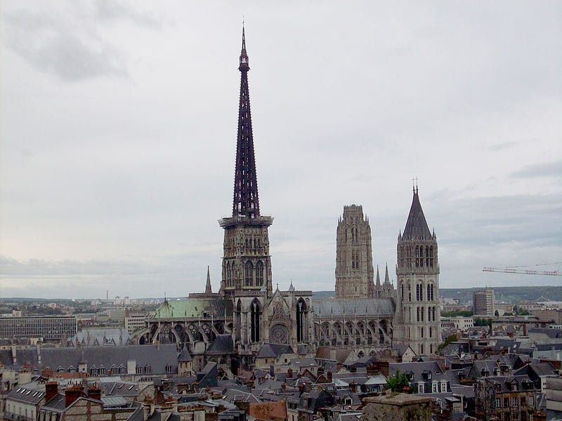 Tallest Church Buildings In The World: Rouen Cathedral