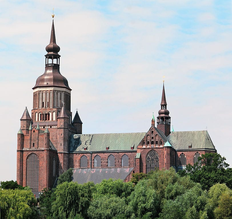 Tallest Church Buildings In The World: St. Mary's church, Stralsund