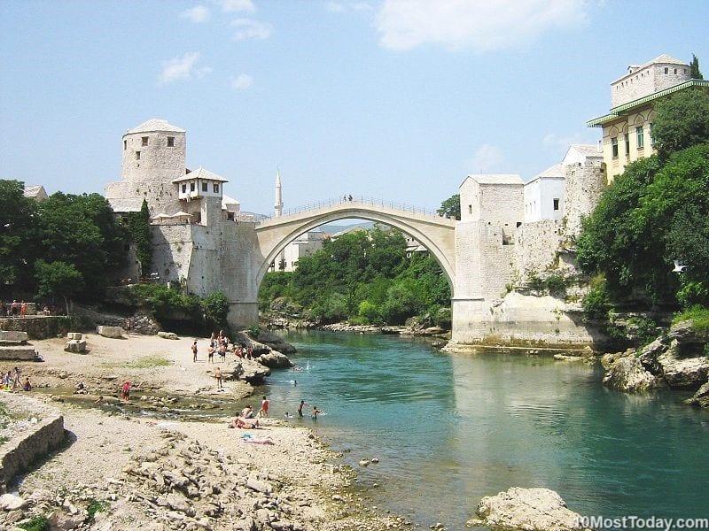 Most Beautiful Stone Bridges In The World: Stari Most, Bosnia and Herzegovina