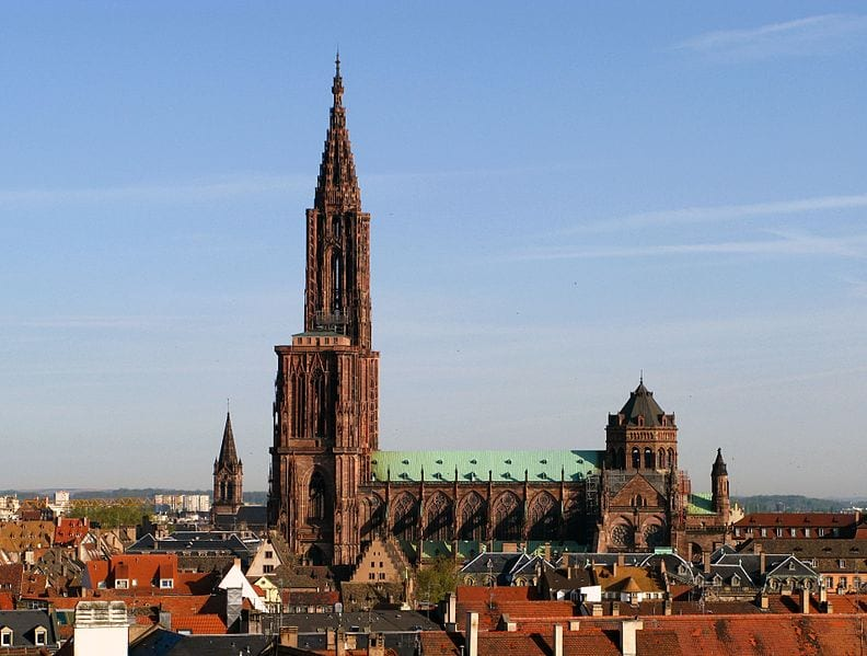 Tallest Church Buildings In The World: Strasbourg Cathedral