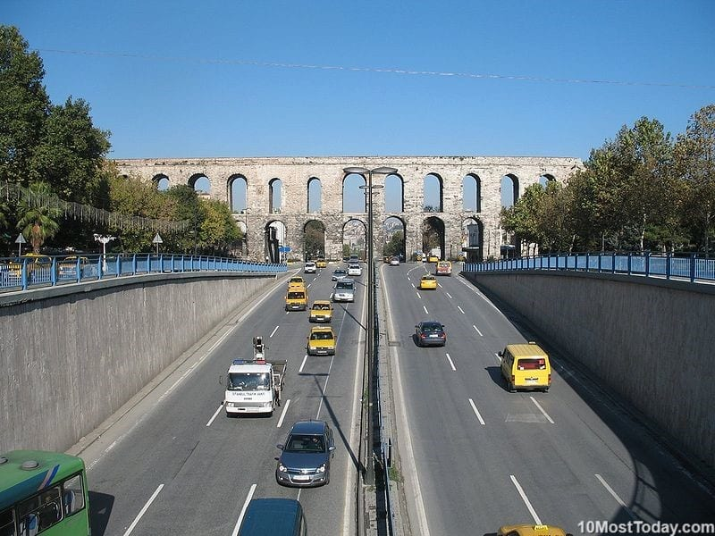 Most Beautiful Roman Aqueducts: Valens Aqueduct