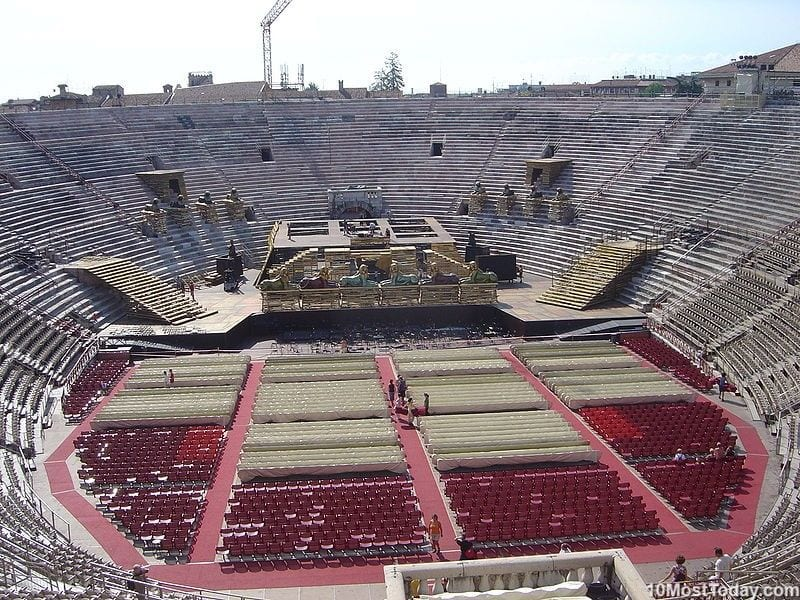 Most Beautiful Roman Amphitheaters: Verona Arena