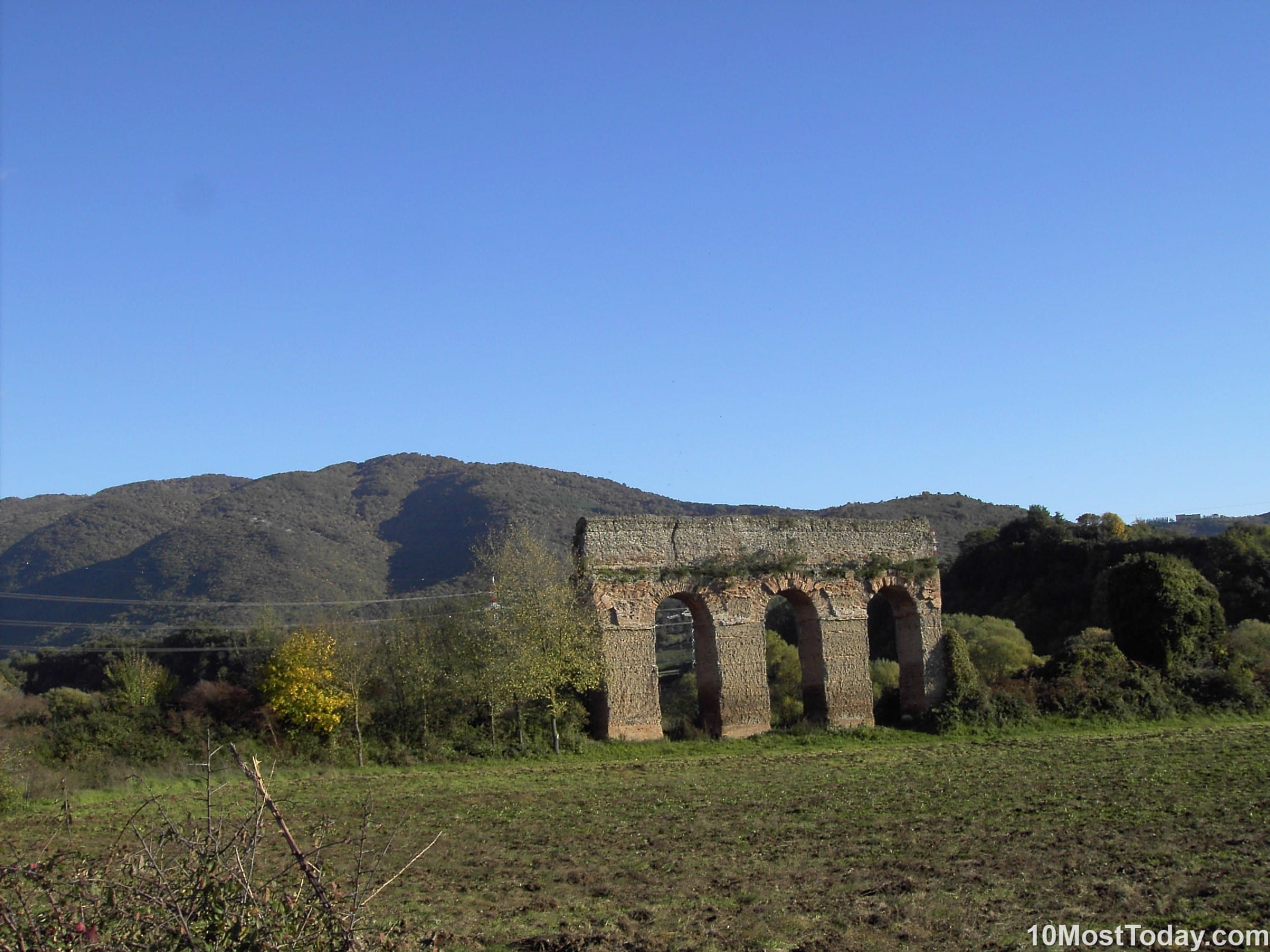 Most Beautiful Roman Aqueducts: Aqua Marcia