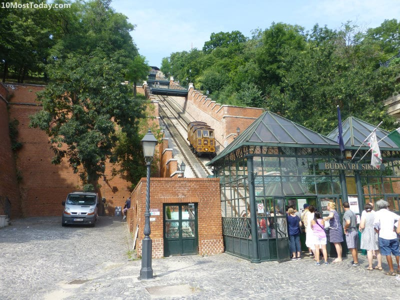 The Budapest Castle Hill Funicular