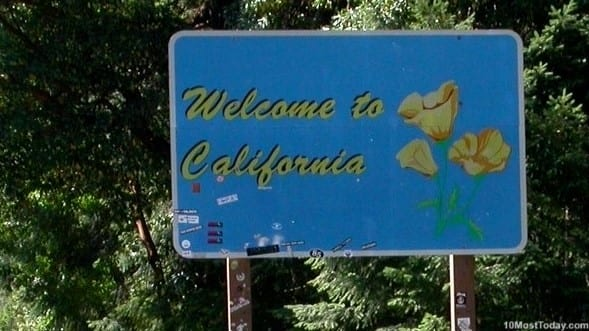 The Golden State is the third largest state in the United States