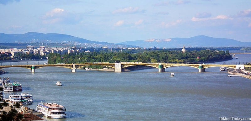 Best Attractions In Budapest: Margaret Island (source: wiki)