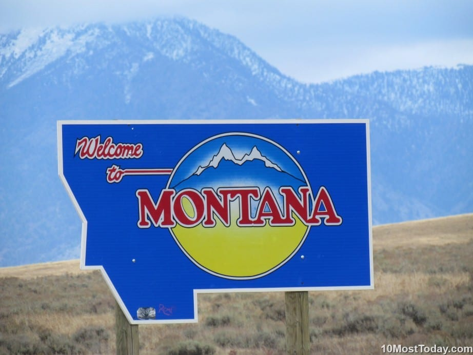 Largest States In The United States: Montana is fourth largest