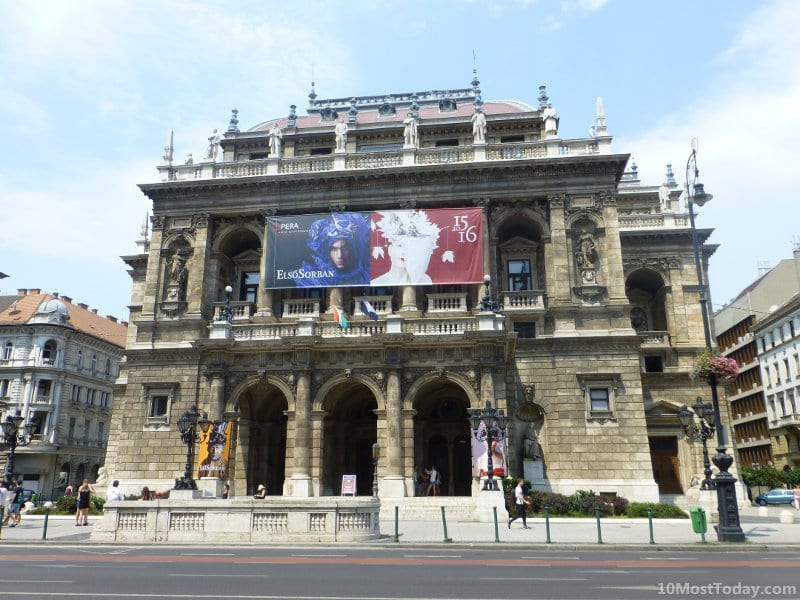 Best Attractions In Budapest: The Hungarian Opera House
