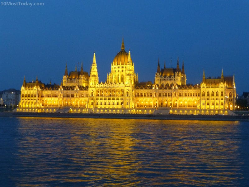 Most Beautiful Parliament Buildings: The Hungarian Parliament