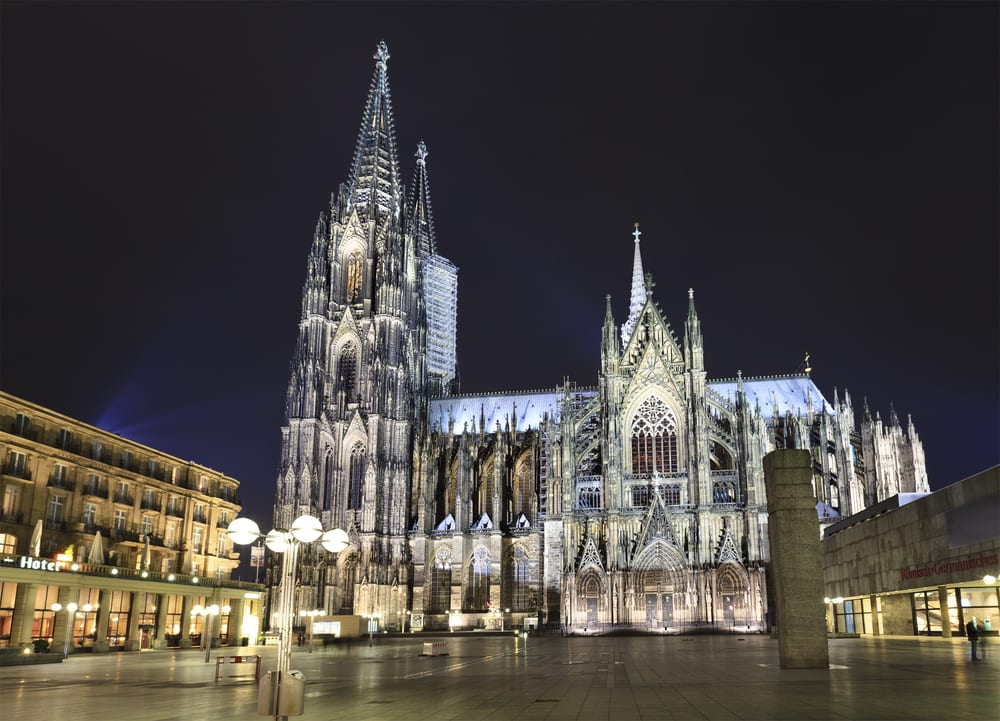 Most Amazing Medieval Cathedrals In Europe: Cologne Cathedral
