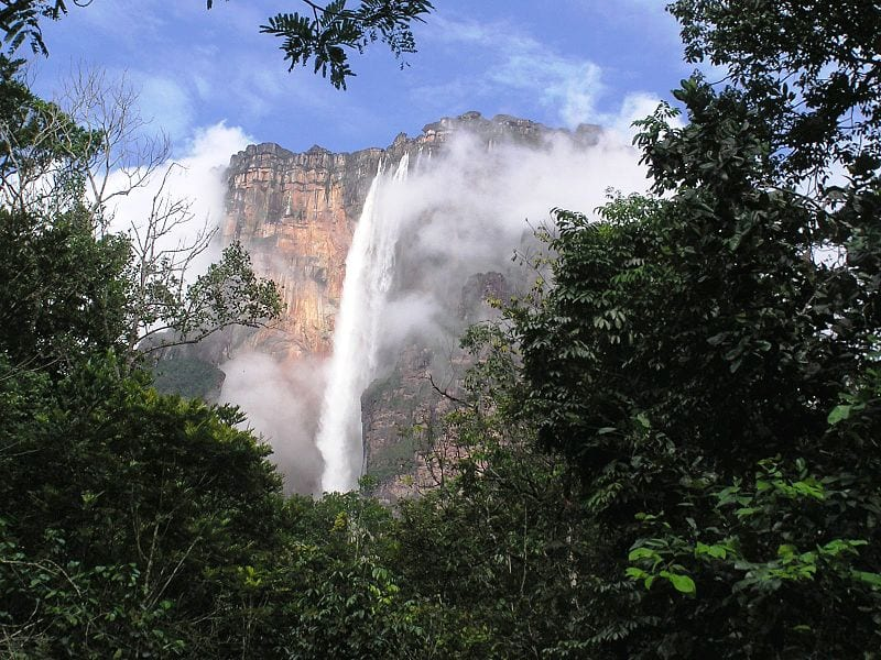 Most Famous Natural Landmarks In South America: Angel Falls