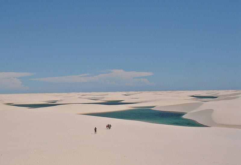 Most Famous Natural Landmarks In South America: Lençóis Maranhenses National Park