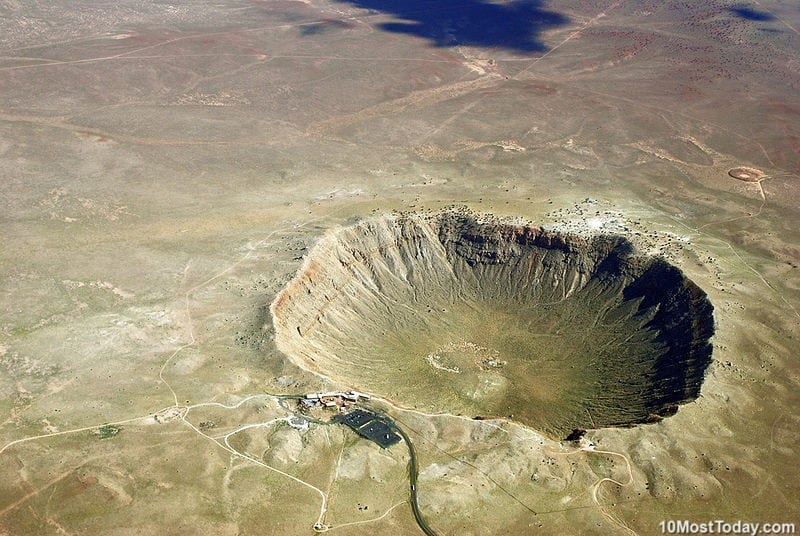 10 Most Incredible Impact Craters: Meteor Crater