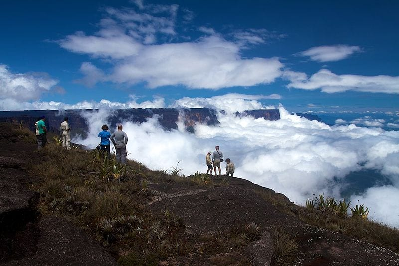 Most Famous Natural Landmarks In South America: Mount Roraima