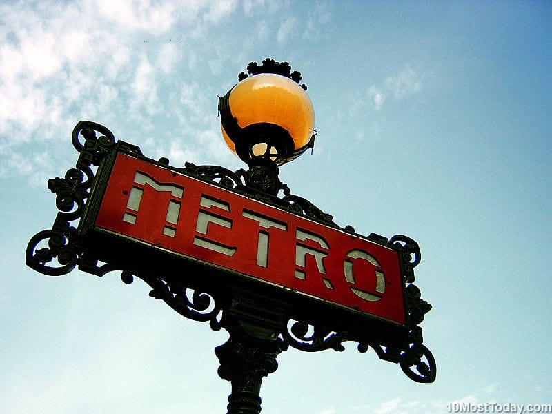 Largest Metro Systems In The World: Paris Métro