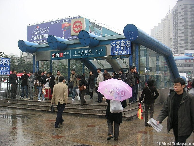 Largest Metro Systems In The World: Shanghai Metro