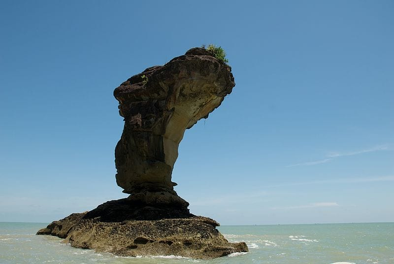 Most Amazing Sea Stacks In The World: Bako Sea Stack, Malaysia