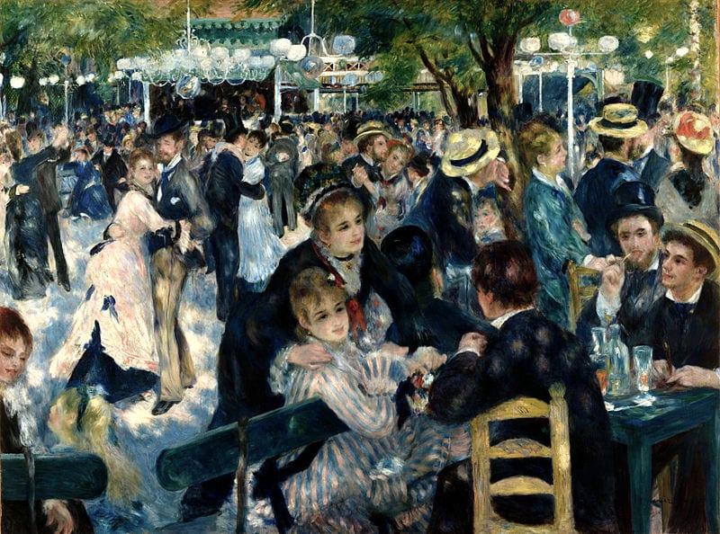 Bal du moulin de la Galette, Pierre-Auguste Renoir