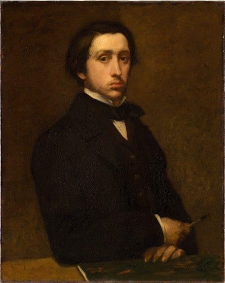 """Edgar Degas - """"Degas au porte-fusain"""""""