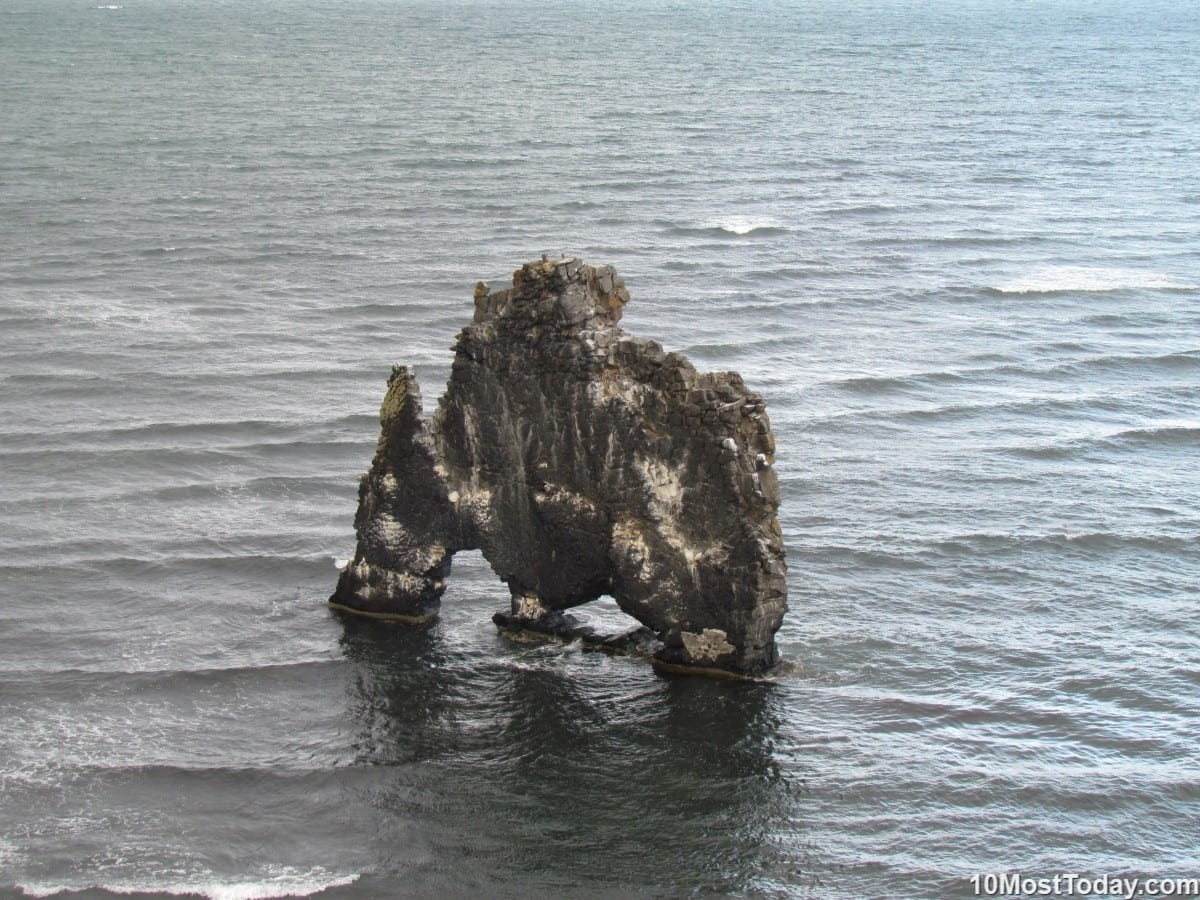 Most Amazing Sea Stacks In The World: Hvítserkur, Iceland