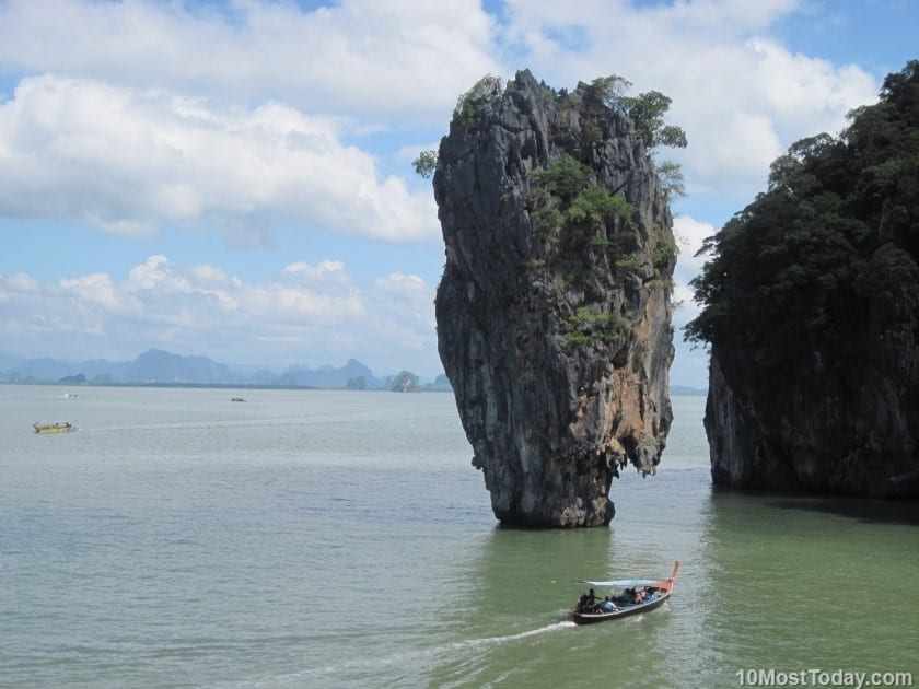 Most Amazing Sea Stacks In The World: James Bond Island, Thailand