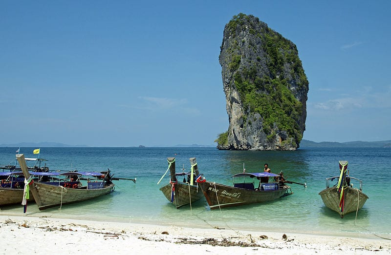 Most Amazing Sea Stacks In The World: Koh Poda Rock, Thailand