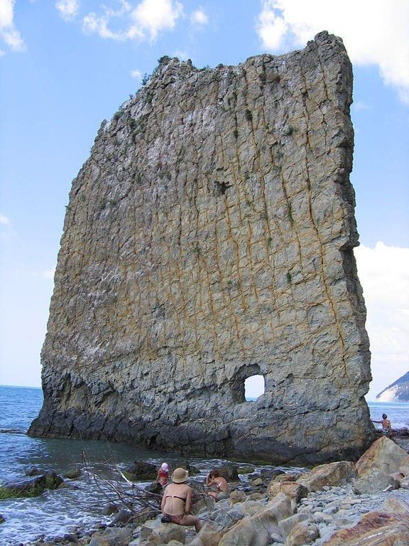 Most Amazing Sea Stacks In The World: Sail Rock, Russia