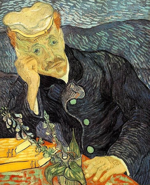 Portrait of Dr. Gachet, Vincent van Gogh