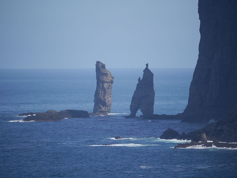 Most Amazing Sea Stacks In The World: Risin og Kellingin, Faroe Islands
