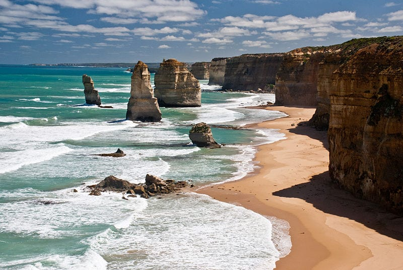 Most Amazing Sea Stacks In The World: The Twelve Apostles, Australia