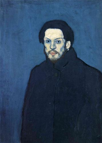 "Pablo Picasso - ""Self-portrait"""