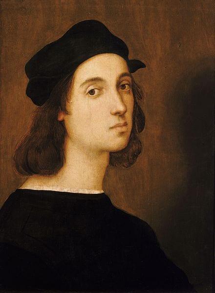 """Raphael (Raffaello Sanzio da Urbino) - """"Self-portrait"""""""