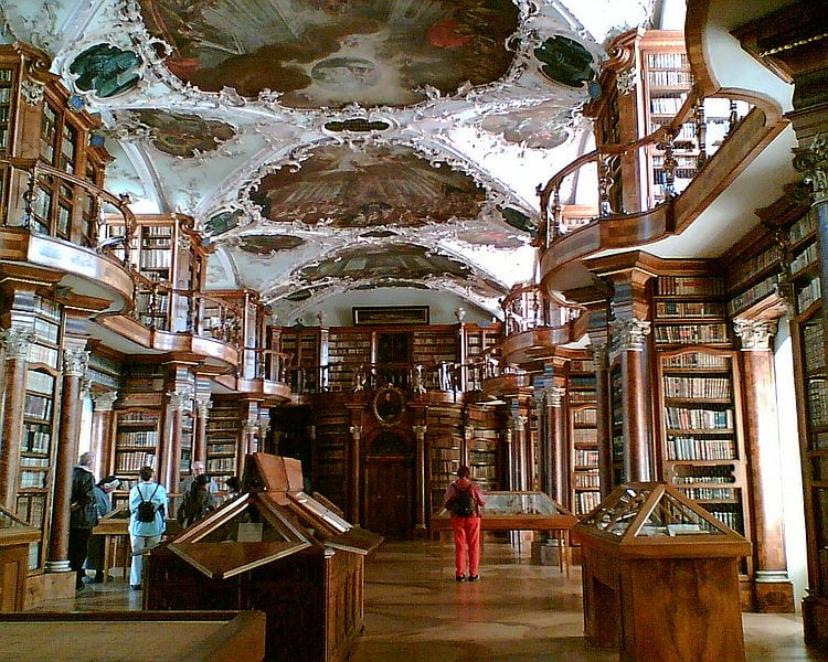 Most Beautiful Libraries: Abbey Library of St. Gallen