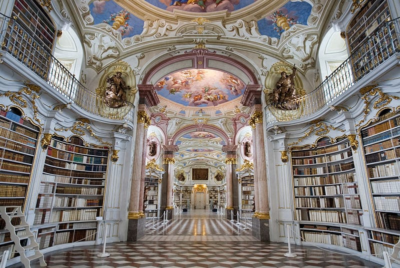 Most Beautiful Libraries: Admont Abbey Library