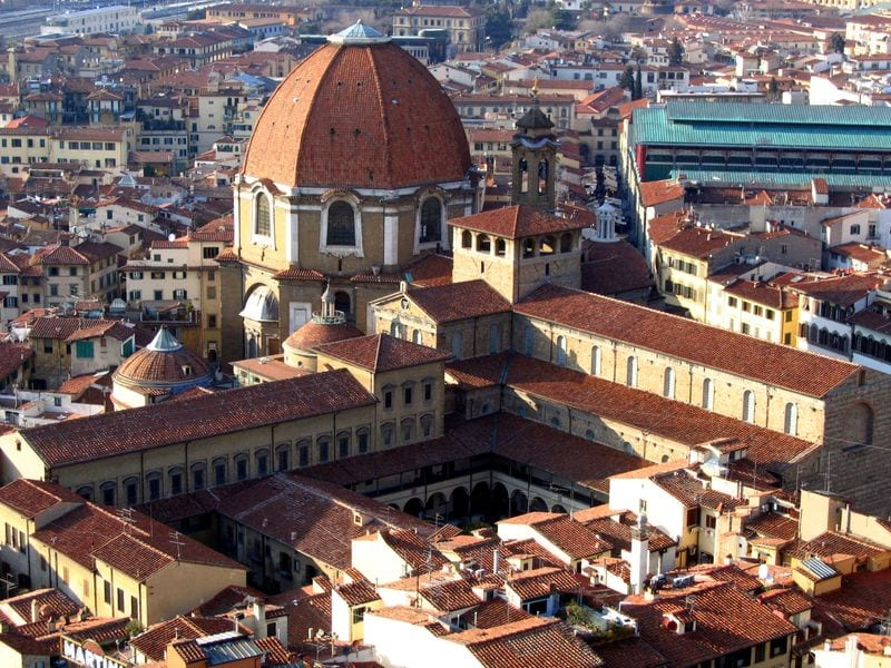 Best Attractions In Florence: Basilica di San Lorenzo