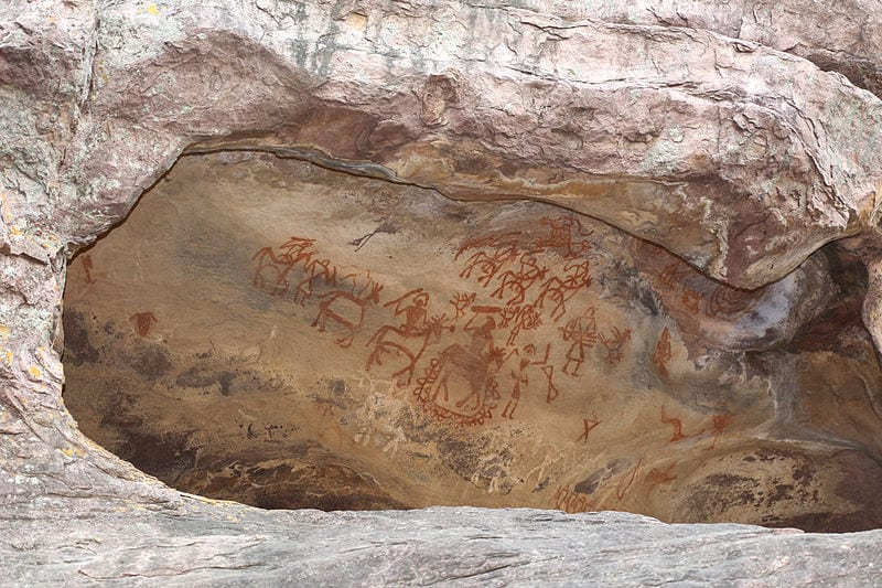 Mesmerizing Prehistoric Cave Paintings: Bhimbetka Rock Shelters