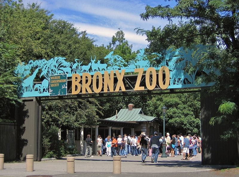 Bronx Zoo - one of the largest zoos in the world